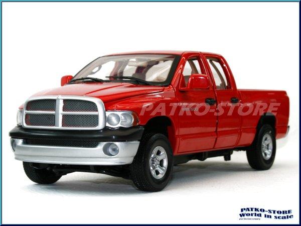 dodge ram quad cab 2002 red motor max 1 18 ebay. Black Bedroom Furniture Sets. Home Design Ideas